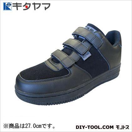 安全靴マンティスマジックタイプ3E ブラック/ブラック 27.0cm M-20