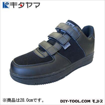 安全靴 マンティス マジックタイプ 3E ブラック/ブラック 28.0cm (M-20)