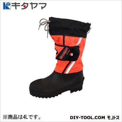 TryAnt 安全靴 ヘキサゴン 長靴 3E オレンジ 4L H-23   耐油・耐薬品用安全靴 安全靴