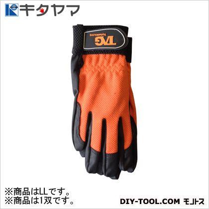 手袋 IKI-SURU-PU手袋 オレンジ LL (#178)