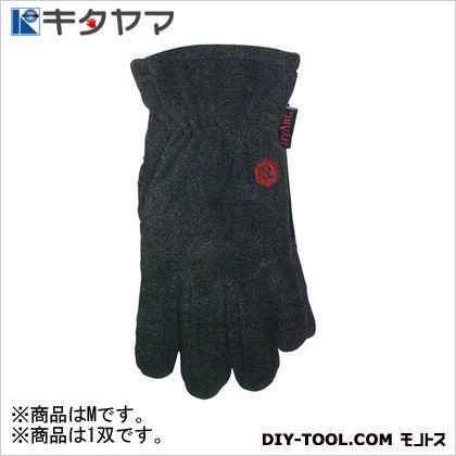 手袋 指ジャン 2本指 グレーフリース(ポリエステル) M #002