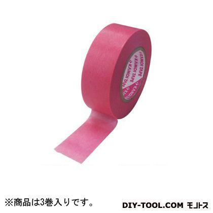 BIG BOSS 車両塗装用マスキングテープ 40mm×18m 3巻