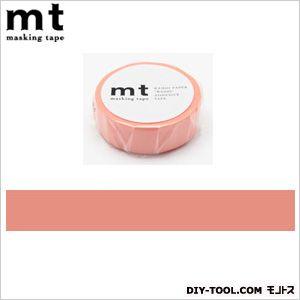 mt 1P サーモンピンク  奥行4.8×幅4.8×高さ1.5cm MT01P188