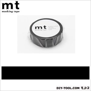 mt 1P マットブラック  奥行4.8×幅4.8×高さ1.5cm MT01P207
