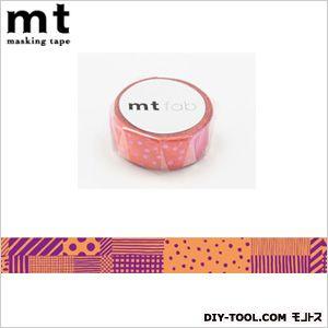 mt fab 手描き柄  奥行4×幅4×高さ1.5cm MTHK1P03
