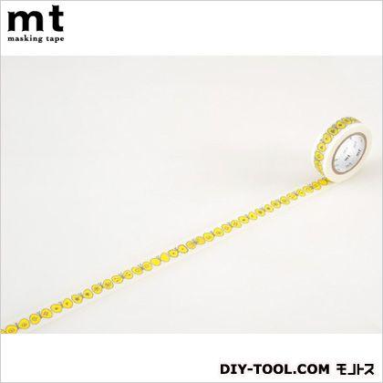 カモイ/カモ井 ミナペルホネンchoucho・yellow  4.8×4.8×1.5cm MTMINA03 1 巻