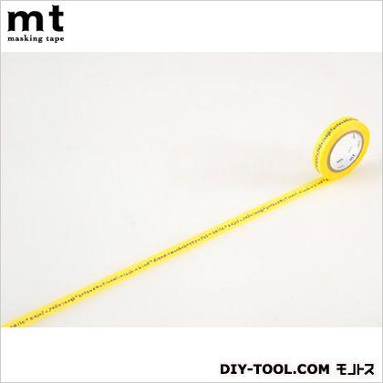 カモイ/カモ井 ミナペルホネンshiritori・yellow  4.8×4.8×0.9cm MTMINA05 1 巻