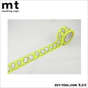 ミナペルホネンsmile・yellow  4.8×4.8×2.7cm MTMINA09 1 巻