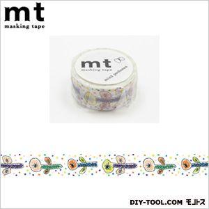 カモイ/カモ井 ミナペルホネンflower・white  4.8×4.8×2cm MTMINA23