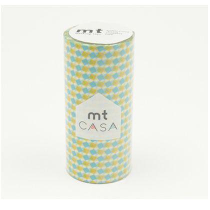 mt CASA 100mm スクエア・イエロー  100mm×10m MTCA1083