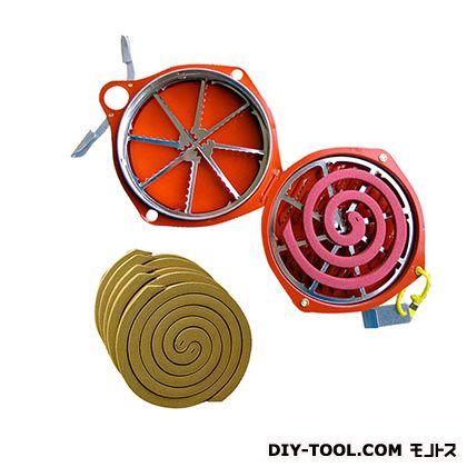 森林香セット (森林香10巻+携帯防虫器) 屋外専用