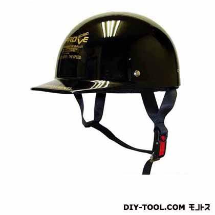 半キャップヘルメット フリー ブラック (NO.601)