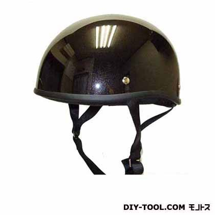 ダックテールヘルメット フリー メタリックブラック  KD-17