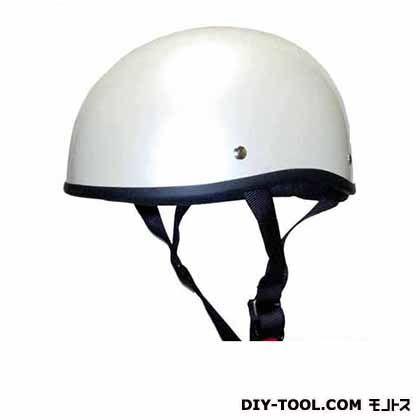 ダックテールヘルメットフリー パールホワイト  KD-17
