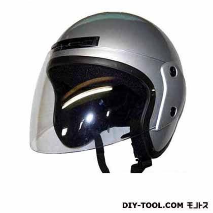 ジェットヘルメット フリー シルバー  KW-77JS