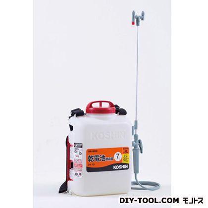 消毒名人(乾電池式噴霧器) ホワイト  DK-7D