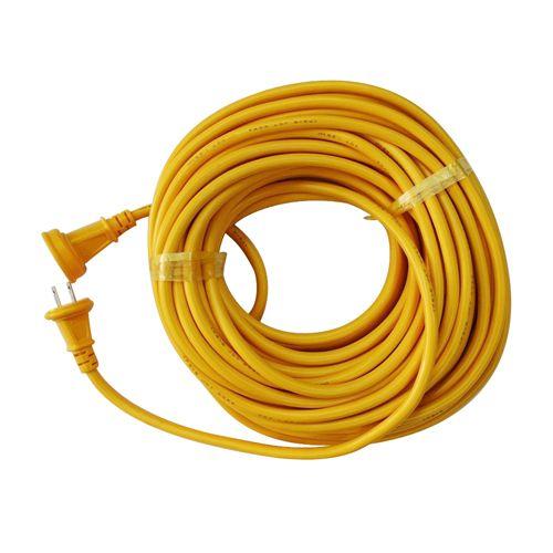 宏和工業 防雨コード  15A×20m   KRW69-20 キイロ
