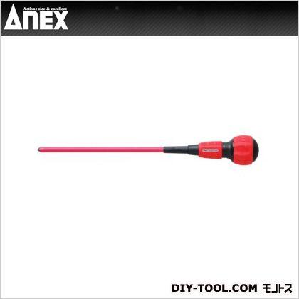 アネックス 短絡防止 絶縁ドライバー電工タイプ No.7800《プラスドライバー》 サイズ2×200 絶縁ドライバー 絶縁工具