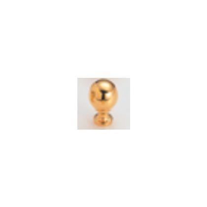 宝球ツマミ ゴールド 22mm 11274