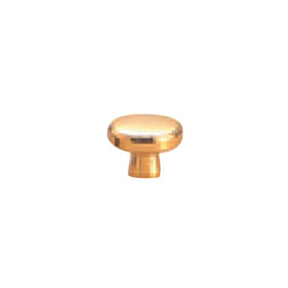 SOWA 真鍮 サントリーツマミ 裏ビス 本金 24mm 12854