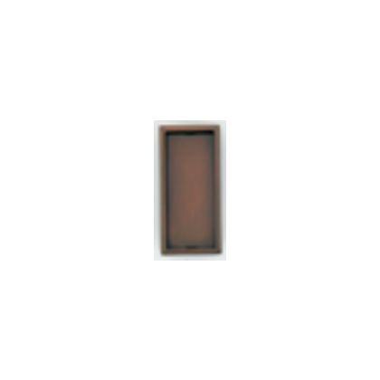立角戸引手7162 銅古美 小 40412