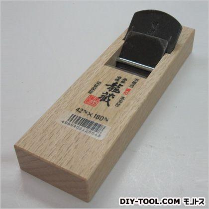 龍蔵 ミニ鉋  サイズ:台寸法/58×180mm、有効削幅/36mm、刃幅/42mm 12504
