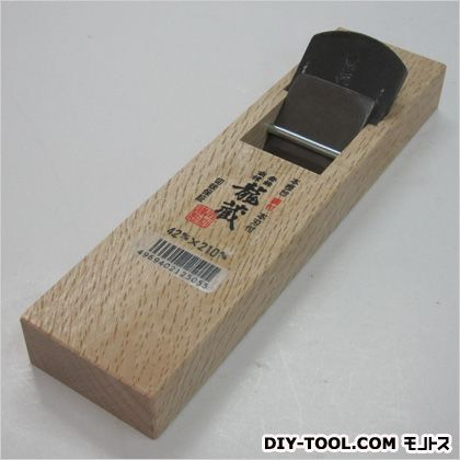 龍蔵 ミニ鉋  サイズ:台寸法/58×210mm、有効削幅/36mm、刃幅/42mm 12505