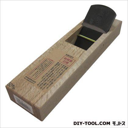 二枚刃鉋 芯樫  サイズ:台寸法/幅65×長さ242mm、有効削幅/43mm、刃幅/50mm 41110