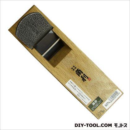 二枚刃鉋 油台  サイズ:台寸法/77×258mm、有効削幅/51mm、刃幅/60mm 41444
