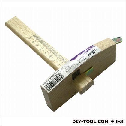 ネジ止スジ毛引 刃収納安全タイプ  サイズ:本体/120mm、目盛り/100mm 41451