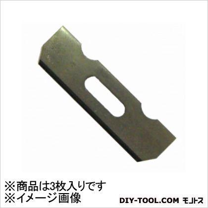 利蔵 替刃式鉋 替刃  サイズ:刃幅58mm 12635 3 枚