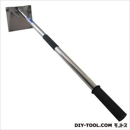 ステン左官鍬  全長:約920mm、 ヘッド:約175×160mm
