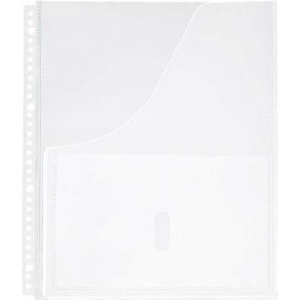キングジム A4S取扱説明書ファイル用ポケット(30穴)   2630P