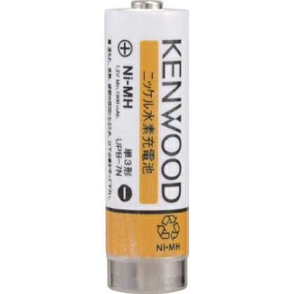 ケンウッド ニッケル水素充電池 UPB7N 1個   UPB7N 1 個