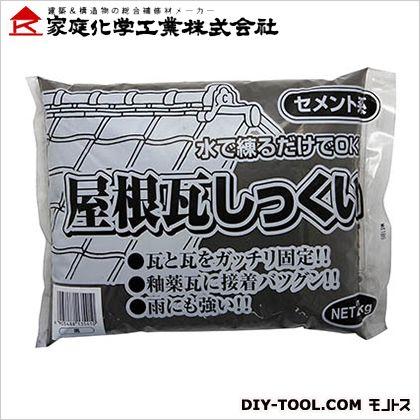 屋根瓦しっくい 黒 2kg 3590772000