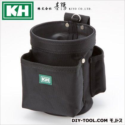 基陽 超軽量丸型バッグ 小 ブラック W130 H175 D180 1341K
