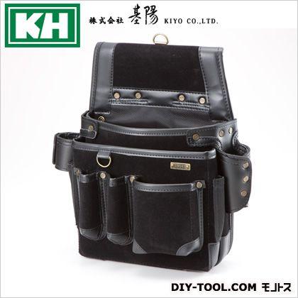 KHストロングアリン ネイルバッグ B型 ブラック W350 H345 D110 24206