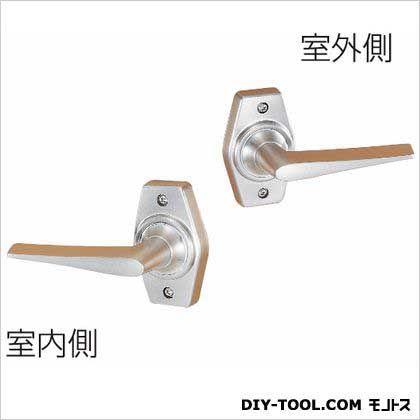 ホームレバー空錠 ニッケル 60MM HL-1N  セット