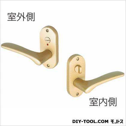 Jレバー小判座表示錠 塗装サテンゴールド BS50MM (JL-20-4K-TSG)