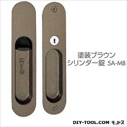 川口技研 引戸錠(シリンダ-)  B/S38 D138-5A-MB-Z  セット