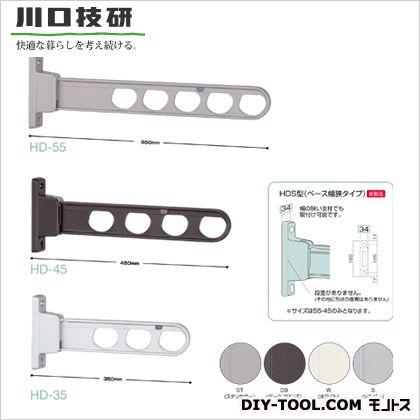 川口技研 腰壁用ホスクリーン ローコストタイプ ステンカラー  HD-35-ST 2 本