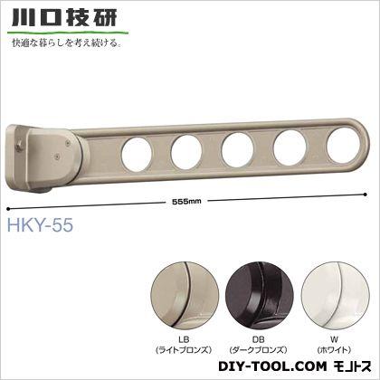 川口技研 窓壁用ホスクリーン スタンダードタイプ(横型ベース) ライトブロンズ  HKY-55-LB 2 本