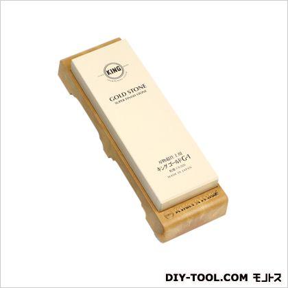 キング仕上砥 刃物超仕上砥石 台付  ゴールド #8000 G-1