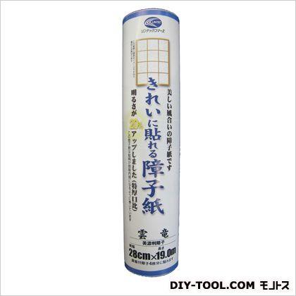 きれいに貼れる障子紙美濃判 雲竜 28cmX19m巻き SOJ-828