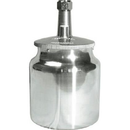 ランズバーグインダストリー デビルビス 吸上式塗料カップアルミ製(容量700CC)G3/8 1個 KR4701   KR4701 1 個