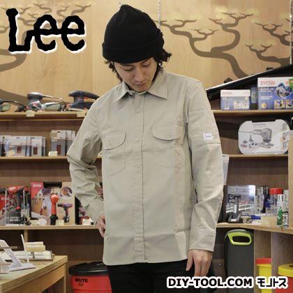 LEE ワークシャツ ベージュ M LS2006 116