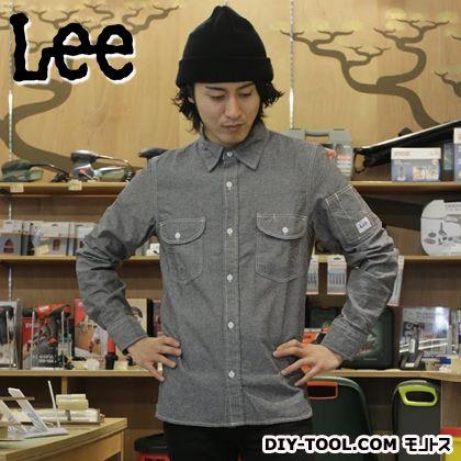 LEE ワークシャツ シャンバリーブラック S LS2006175