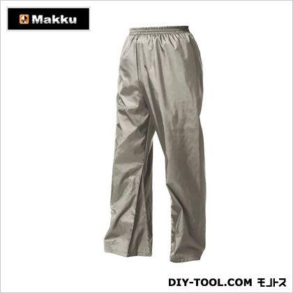 マック ナイロンパンツ 三角マチ付き (Nylon Pants) ライトグレー LL AS-1450  着
