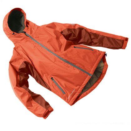バンコールヒート防水防寒ジャケット バーンオレンジ EL (AS-3710)