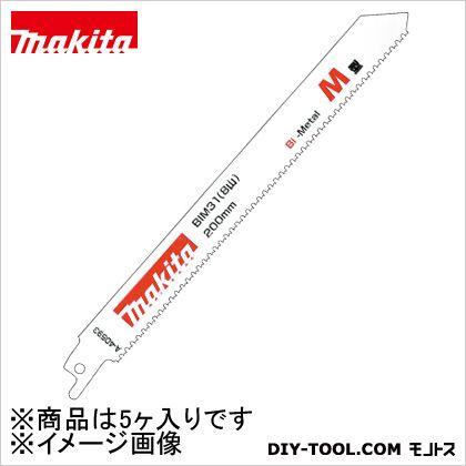 レシプロソーブレードバイメタル刃BIM31(5入)鉄工用  31 A-40593 5 ヶ